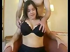 Big Tit Chubby Sucks And Fucks A Cock And Makes It Cum With Her Hands