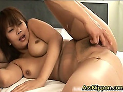 Busty Asian Teen Fucks All The Time