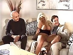 Dirty Old Kink Hires A Young Gigolo For His Oversexed Wifey
