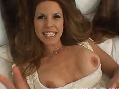 Hot milf gets naughty with a younger guy