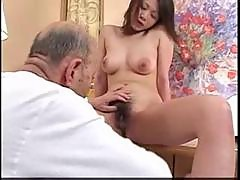Asian hardcore Husband And Old Man