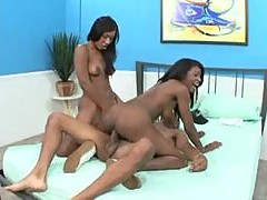 Both girls can ride black dick like hotties