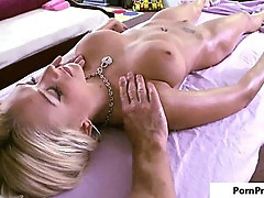 Pornpn Sweet Oily Tits Massage