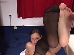 My name is Alice. Paste my Nylonic Teen Soles