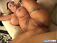 American BBW housewife
