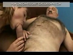 Donna - fucked by lucky an old man till cumshot