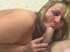Dirty British BBW Slut Loves to Fuck Young Cocks