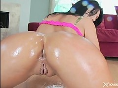 Young squirting anal beauty Persia De...