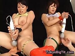 Nana Aoyama And Rin Aoki Getting Their Pussy Vibrated 5 By Tokyobigtit
