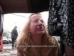 2 lesbians lick pussy and drink piss in public