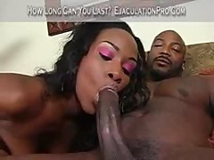 Ebony girl is thick and hot part1