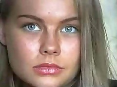 Splendid Russian Teenage Girl Gets Facialized With A Generous Portion Of Cum