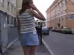 Young Russian Girl Gets Fucked And Spermed