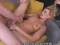 Wife's Juicy Pussy Fucked By Young Stud