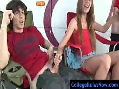 Party Sex Movies In College Campus - CollegeRulesNow.com - clip 22