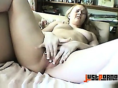 Teen Masturbates At Home