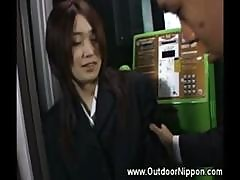 Asian Girl Flashing And Gropped Whille Driving