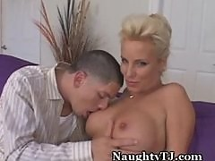 Lonely MILF Finds Young Stud